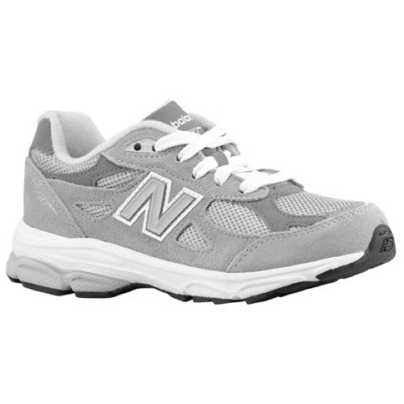 sports shoes 571e7 7844d New Balance Pre-school 990 Grey NWT